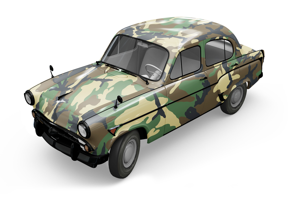 Vintage Car Mockup example image 12