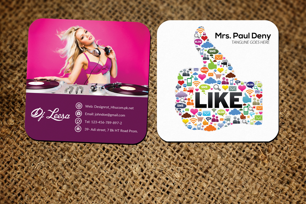 10 Multi use Small Business Cards example image 4