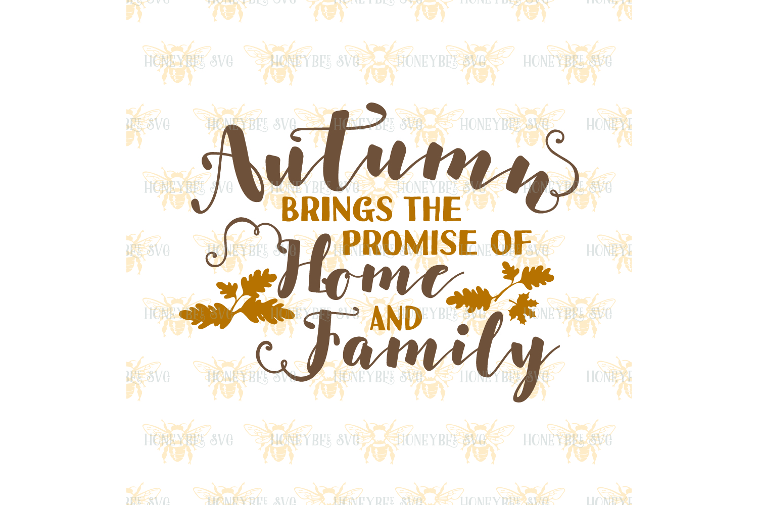 Autumn Brings the Promise of Home and Family svg example image 2