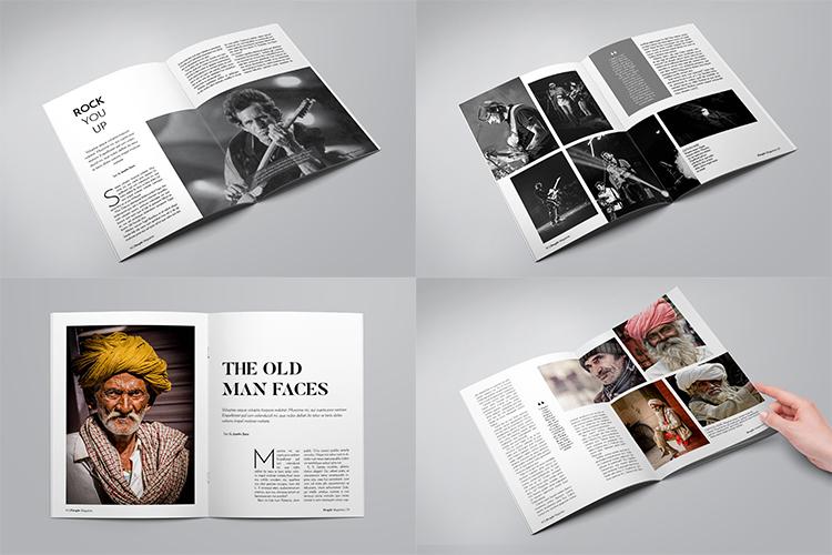A5 Multipurpose Magazine Template example image 6