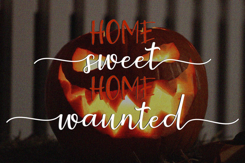 Halloween Sweet Font Duo example image 2