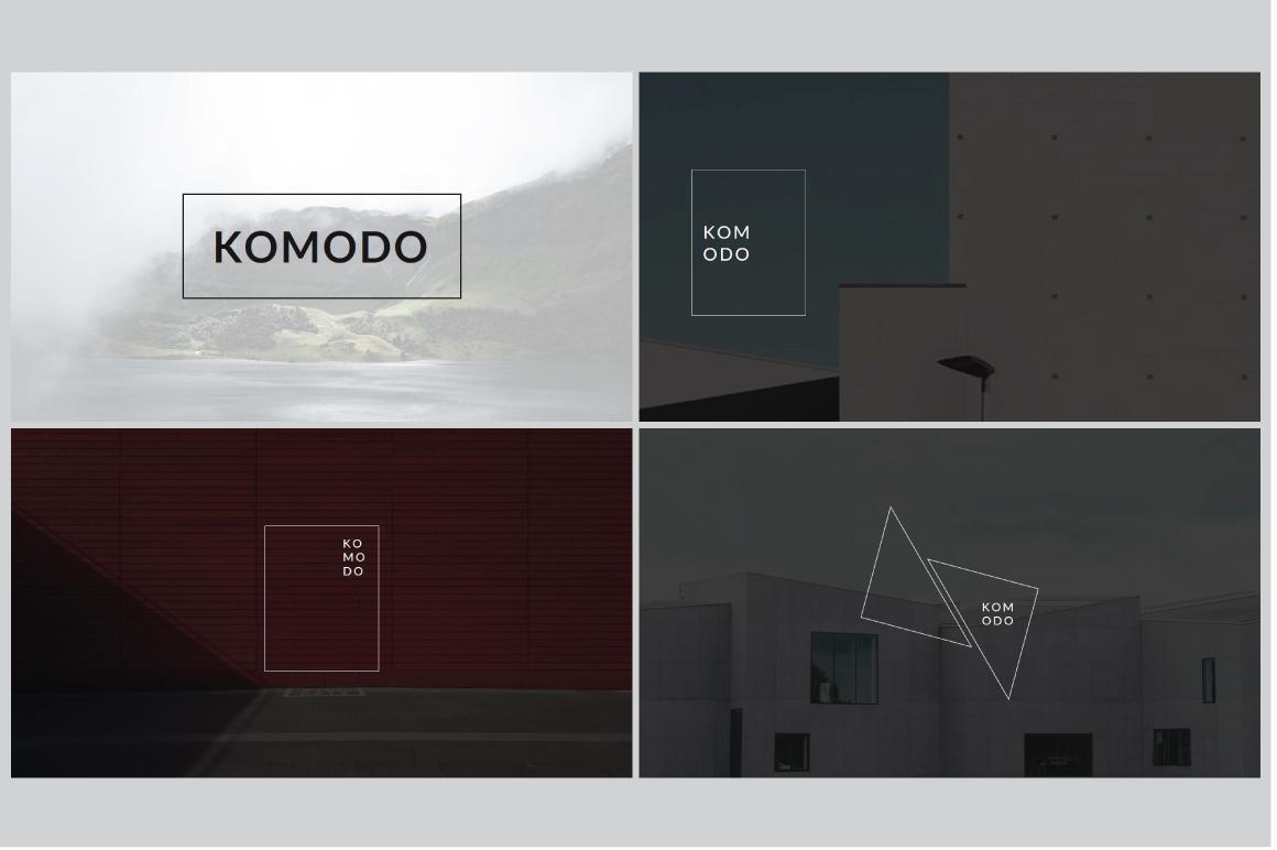 Komodo Minimal Powerpoint Template example image 2