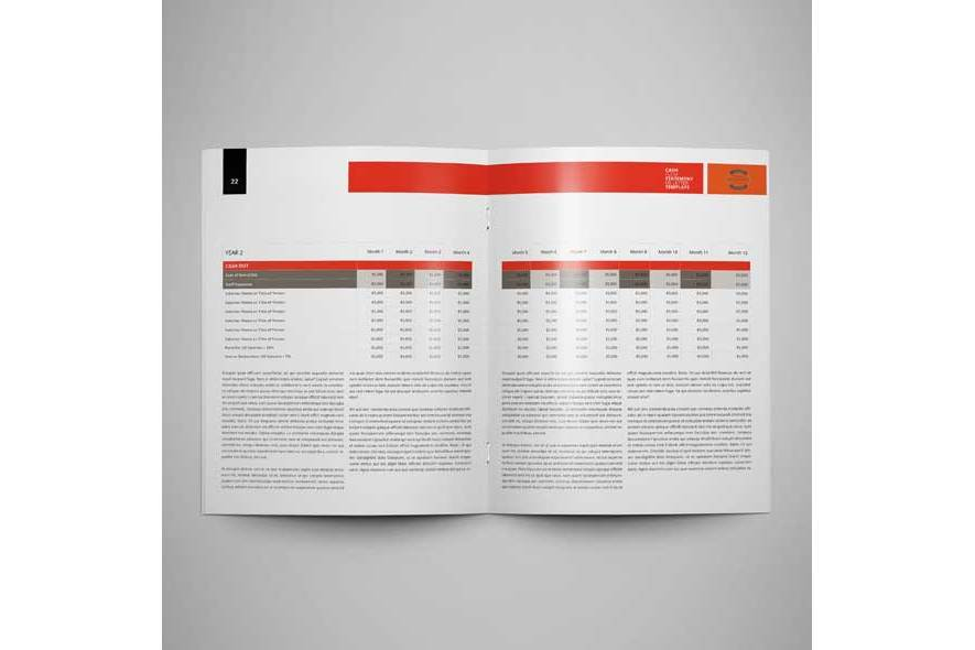 Cash Flow Statement US Letter Template example image 5
