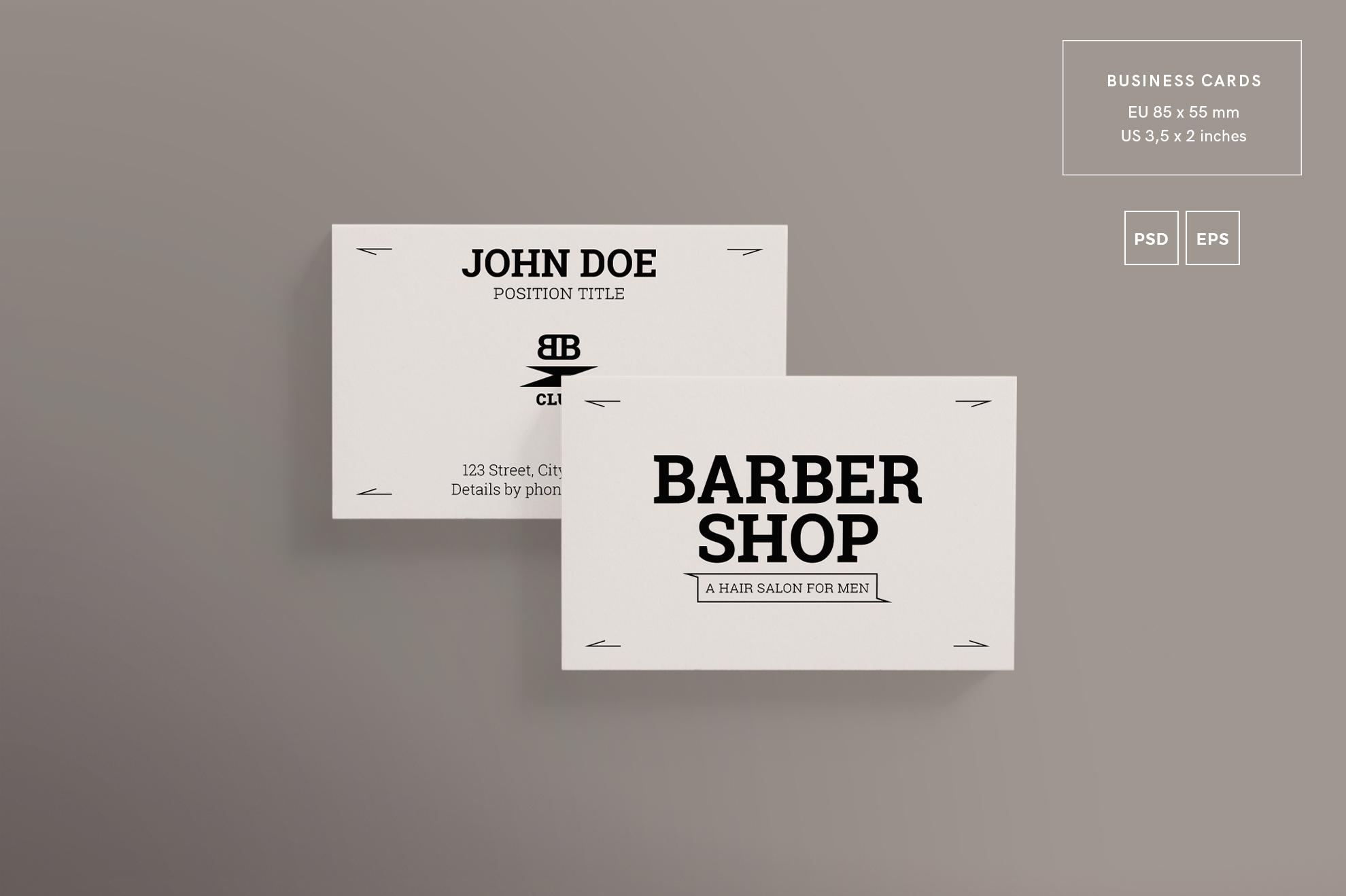 Barber shop design templates bundle by design bundles barber shop design templates bundle example image 2 colourmoves