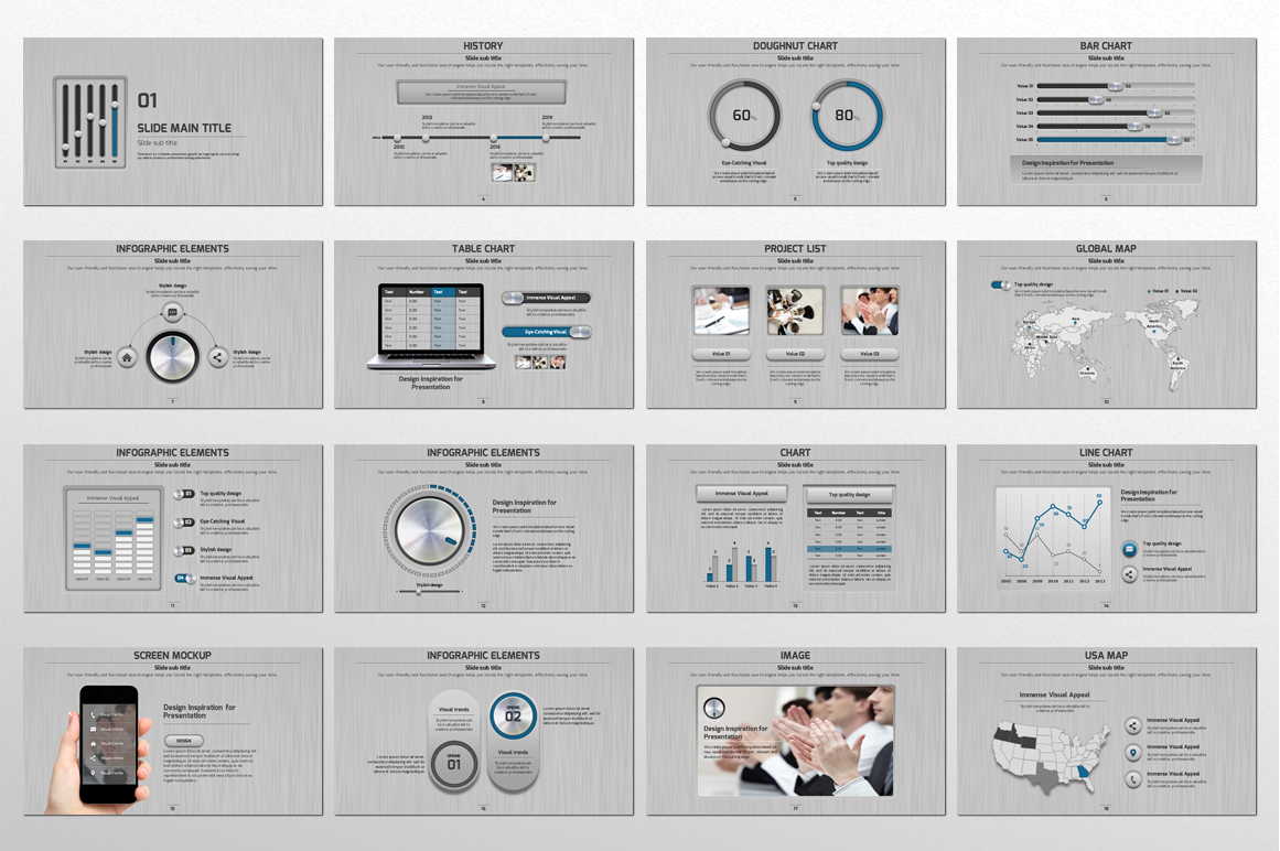 Volume PowerPoint example image 4