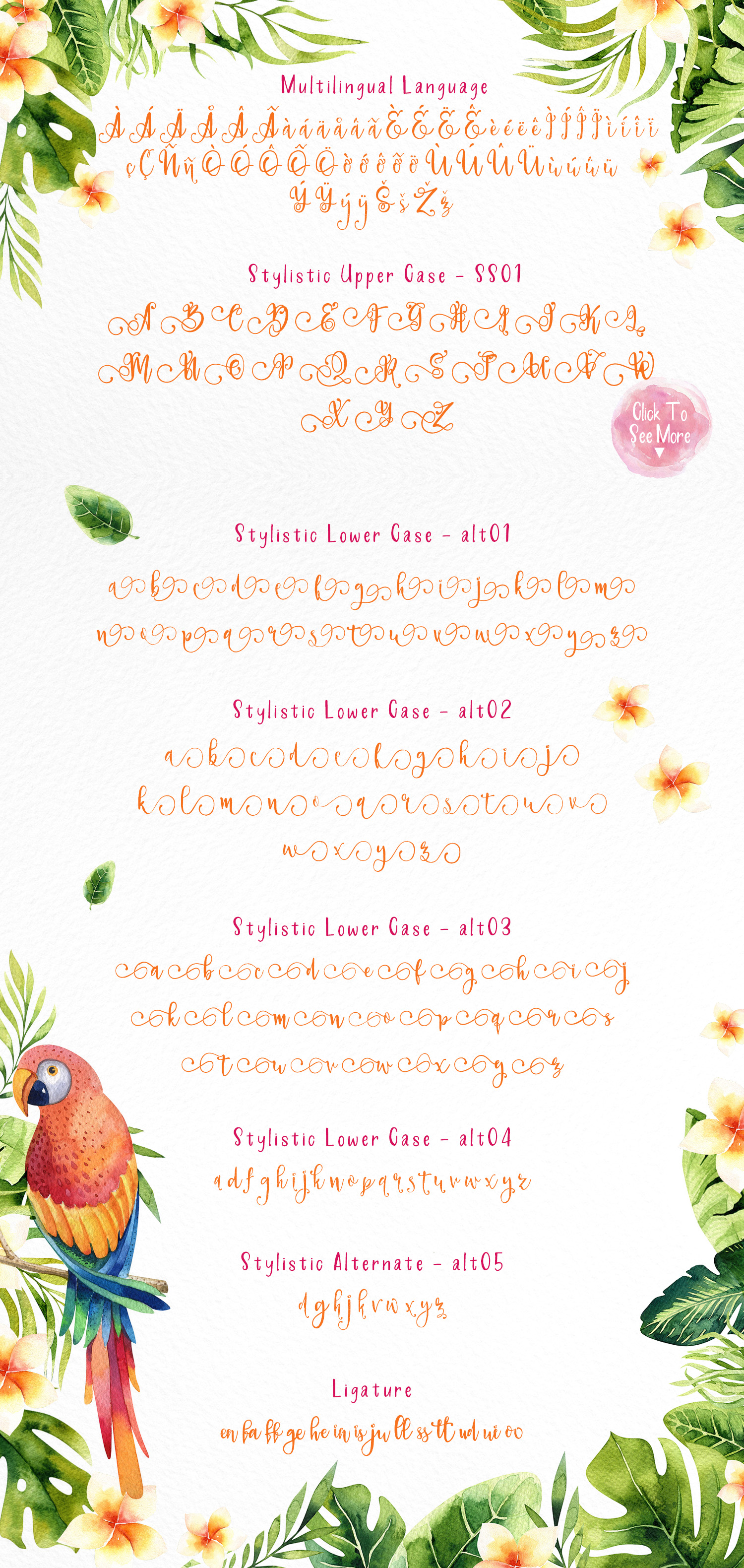 Paradiso - Fonts Duo example image 8