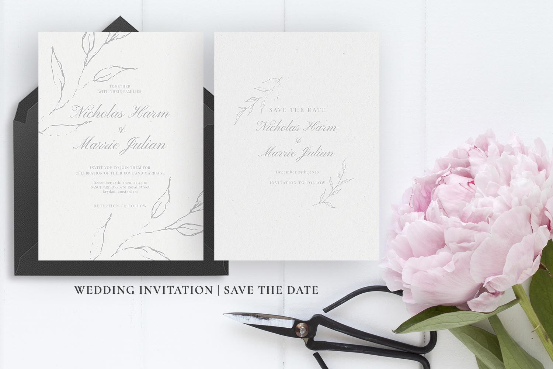 Elegant Floral Wedding Suite example image 4