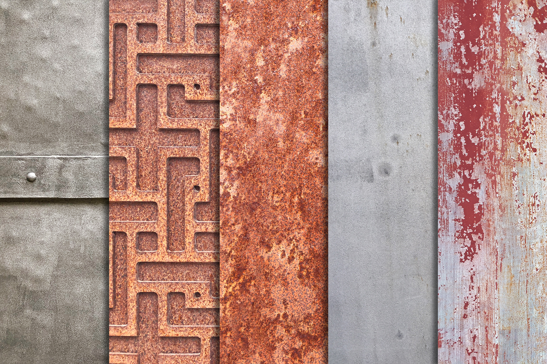 Old Iron Textures x10 vol2 example image 3