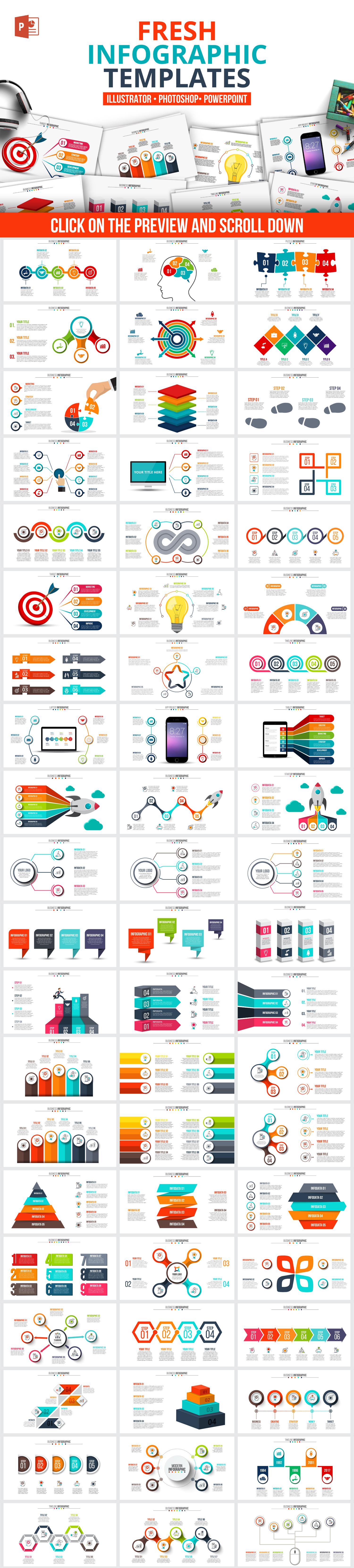 Ppt Infographic Elements Bundle