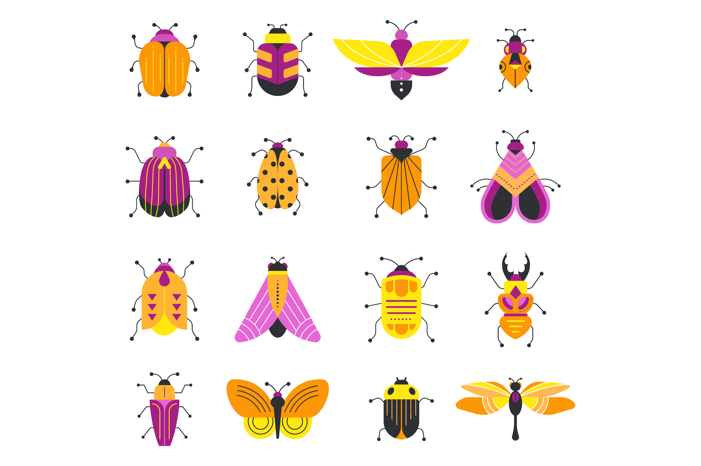 Bugs and insects collection  example image 8