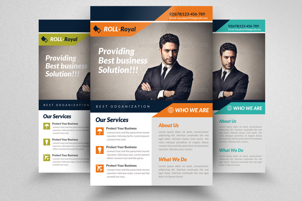 6 Creative Business Flyers Bundle example image 6