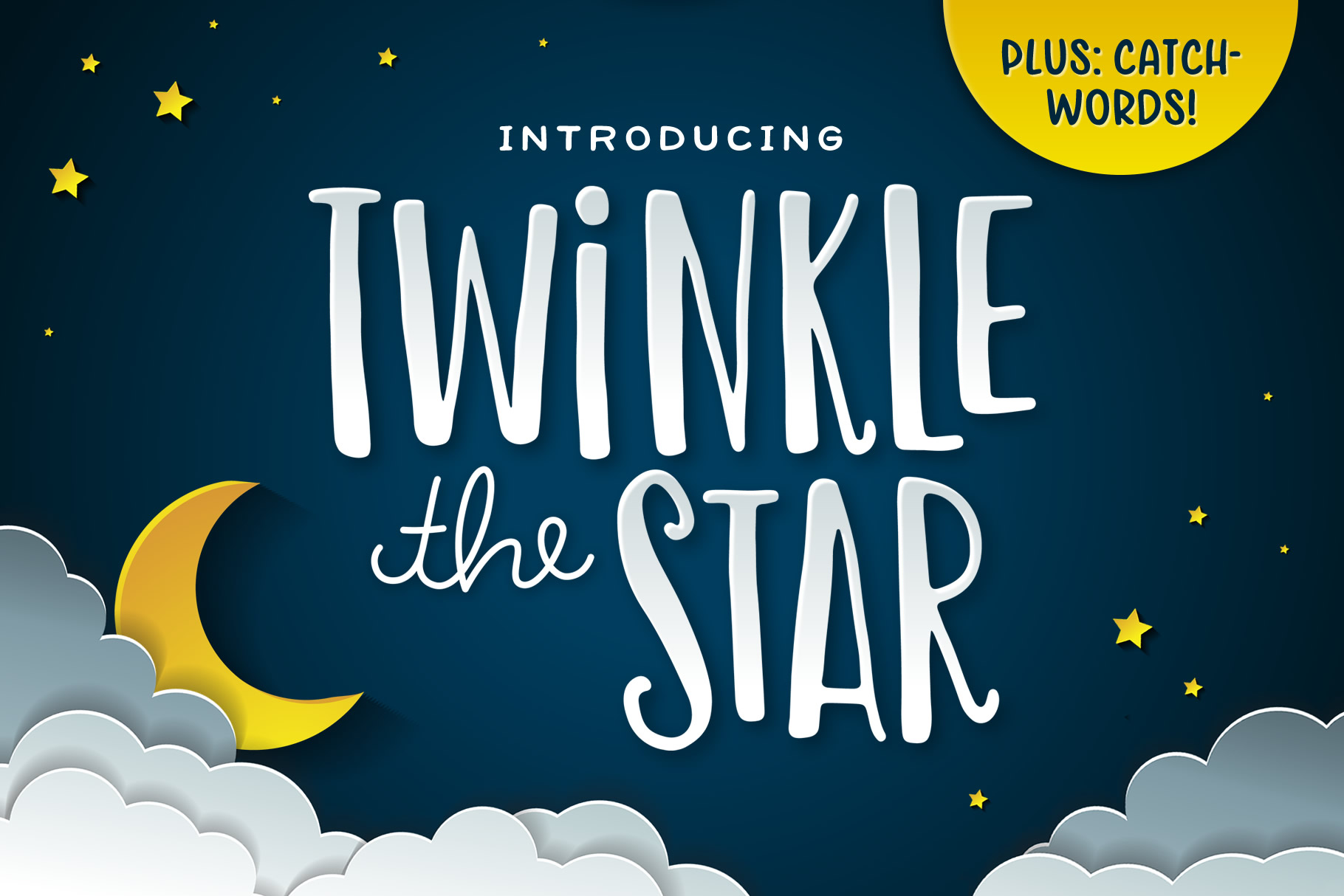 Twinkle the Star Font example image 1