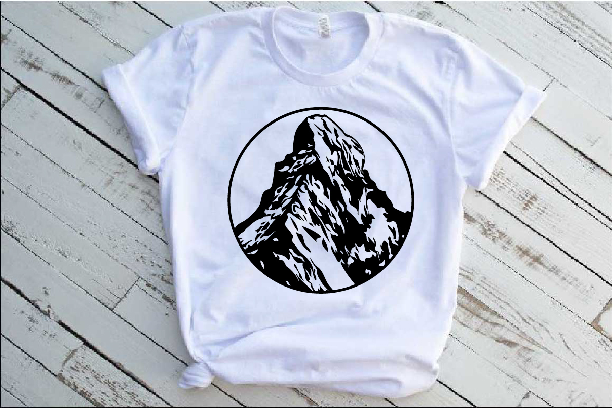 Matterhorn Mountains SVG Alps alpinism ski snow 1246S example image 1