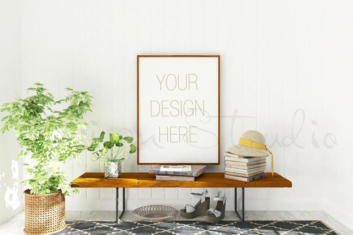 Styled Stock Photography, Frame Mockup set, vertical&Horizontal example image 2