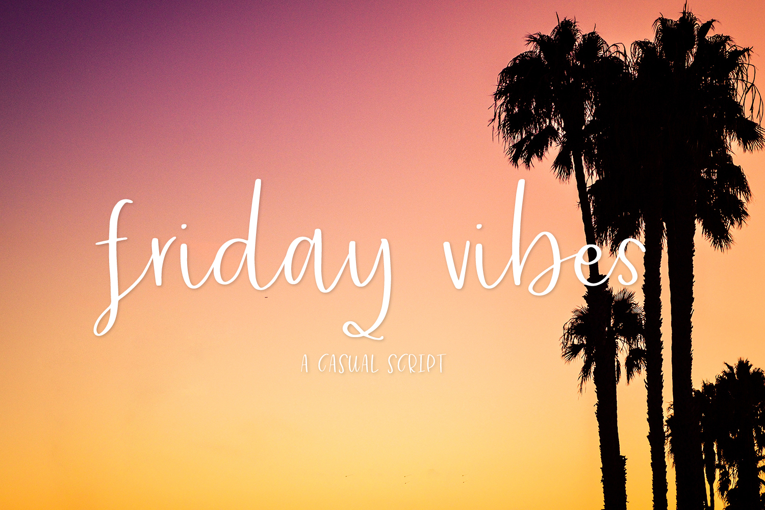 Friday Vibes Script example image 1