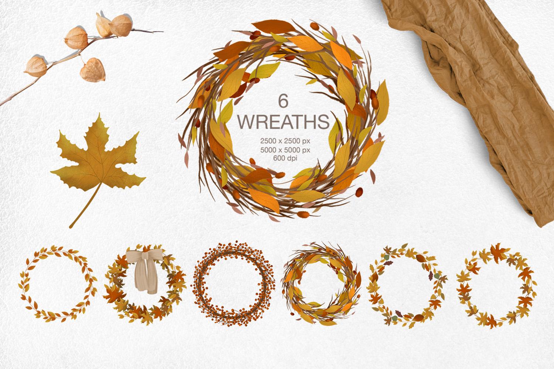 Cozy autumn clipart example image 7