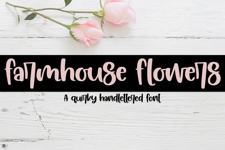 Handwritten Font Bundle - 6 Fonts example image 11