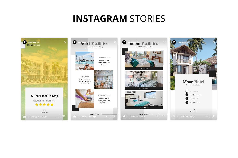 Moxa Hotel Social Media Kit example image 9