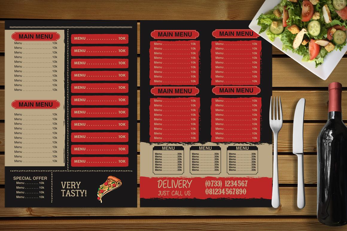 Restaurant Menu example image 4