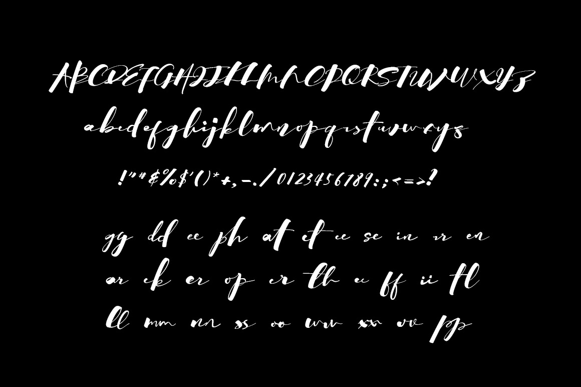 SprinkleInk font example image 6