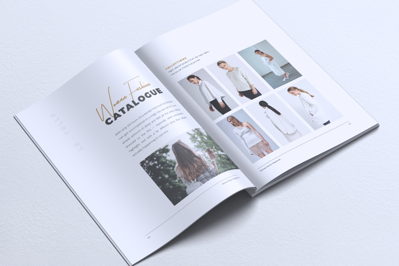 MINIMAL Lookbook Magazines Fashion example image 9