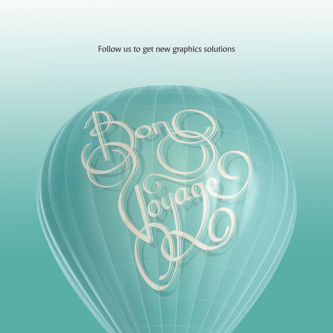 Hot Air Balloon Mockup example image 7