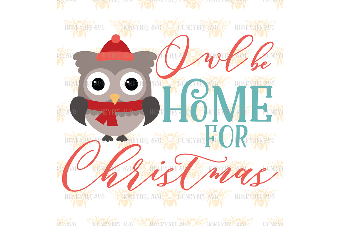 Owl Be Home For Christmas example image 2