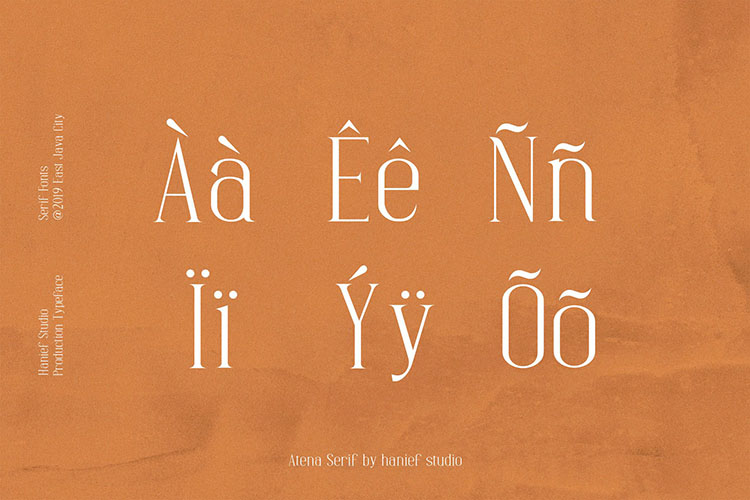 Atena - Serif Font example image 8