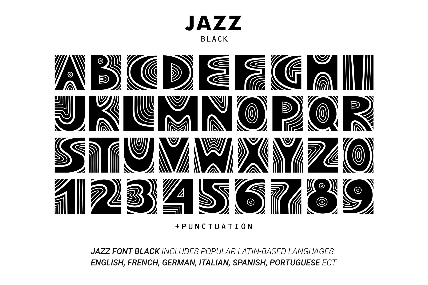 JAZZ - SVG Color Font example image 4