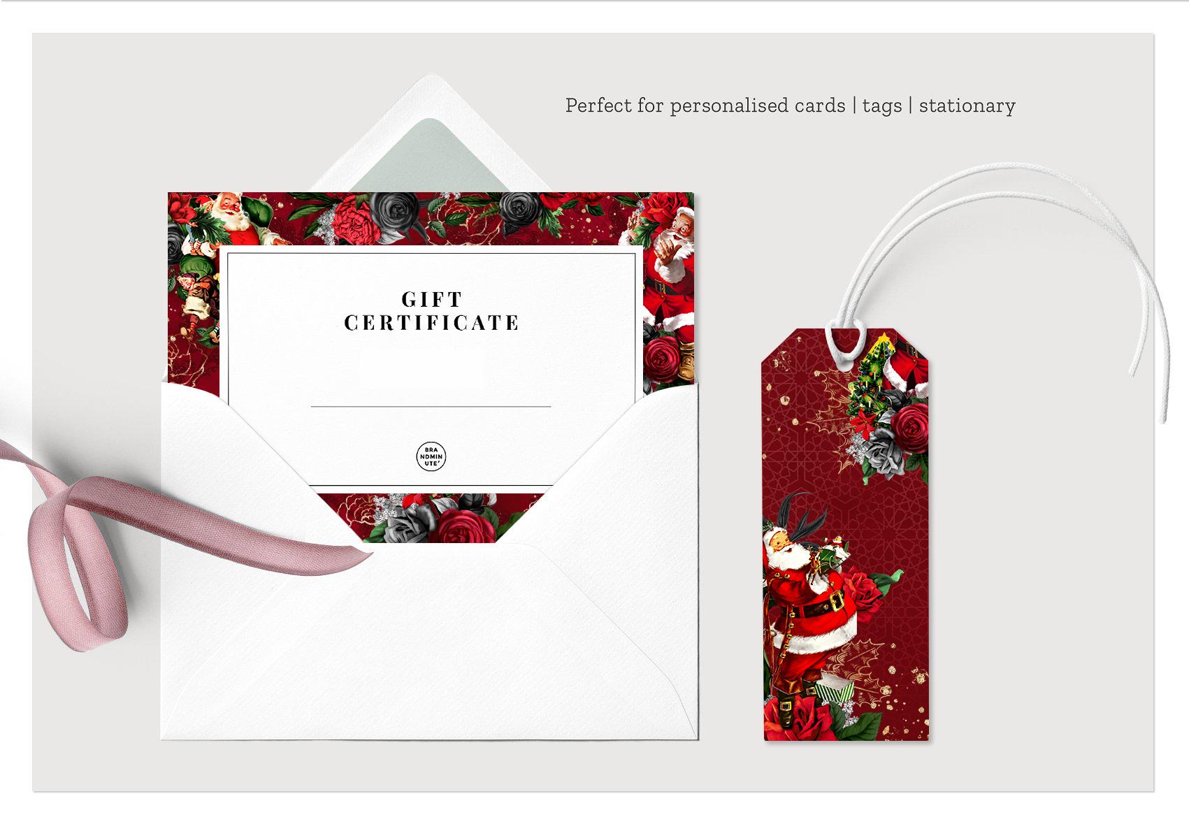 Santa Claus | 54 Clipart Elements example image 3