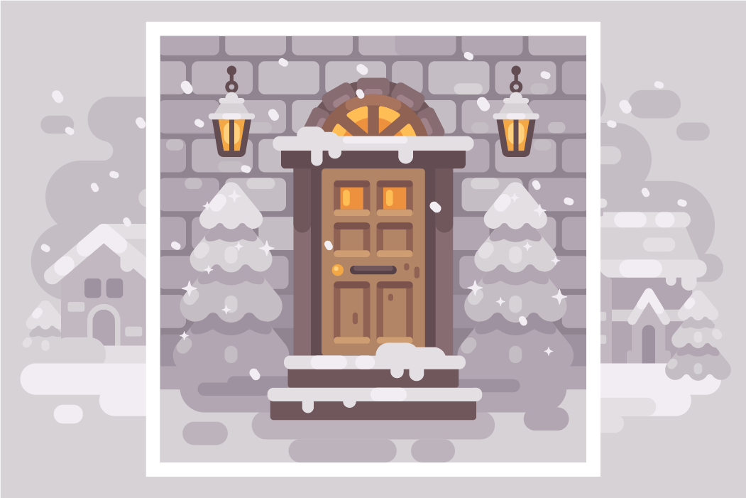 Winter porches example image 2
