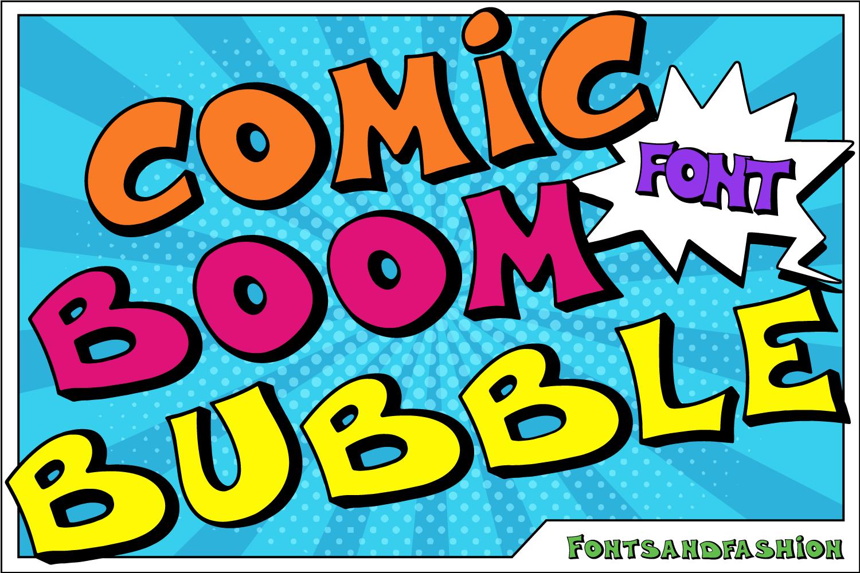 Comic Boom Bubble example image 2