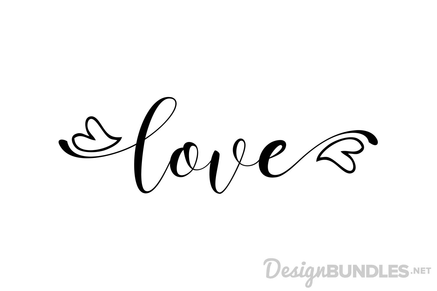 Love  Love Calligraphy Font