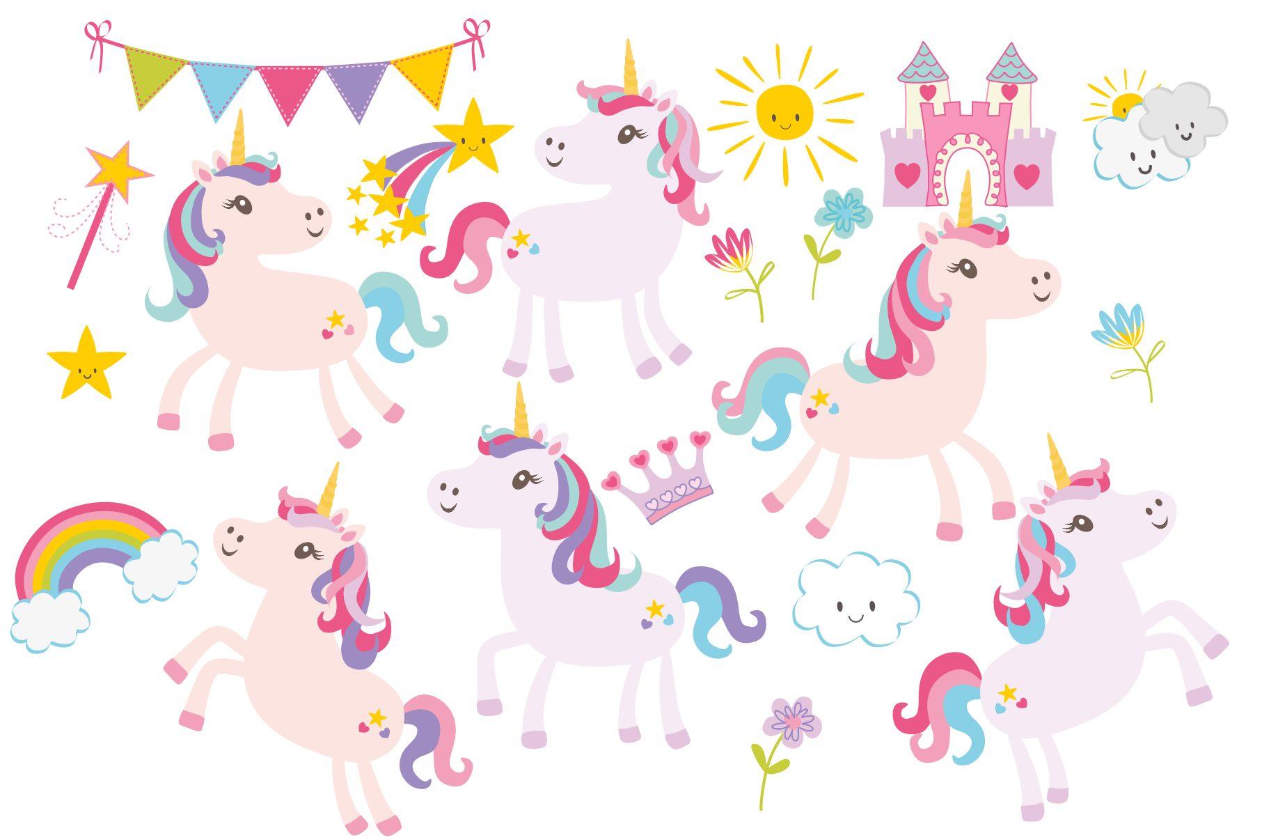 Unicorn Clipart example image 2