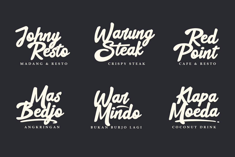 Black Street Font example image 5