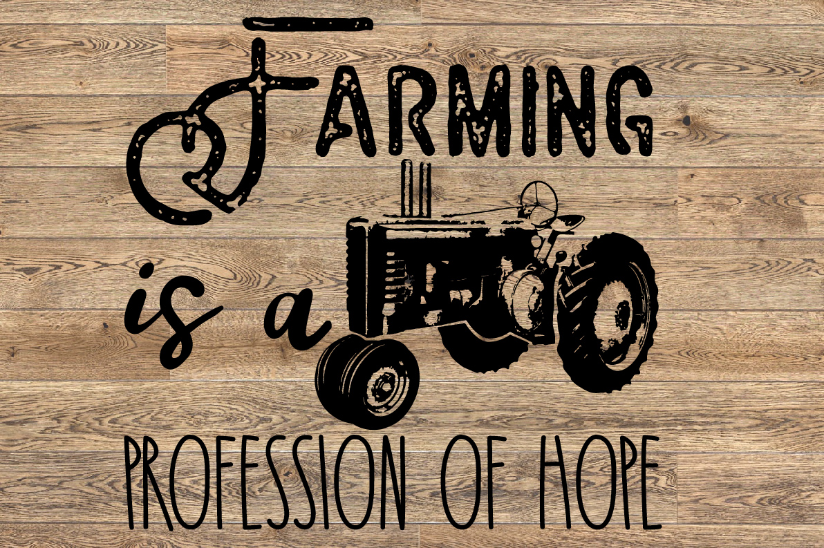 Farm Tractor SVG Father's Day dad boy 1638 example image 1