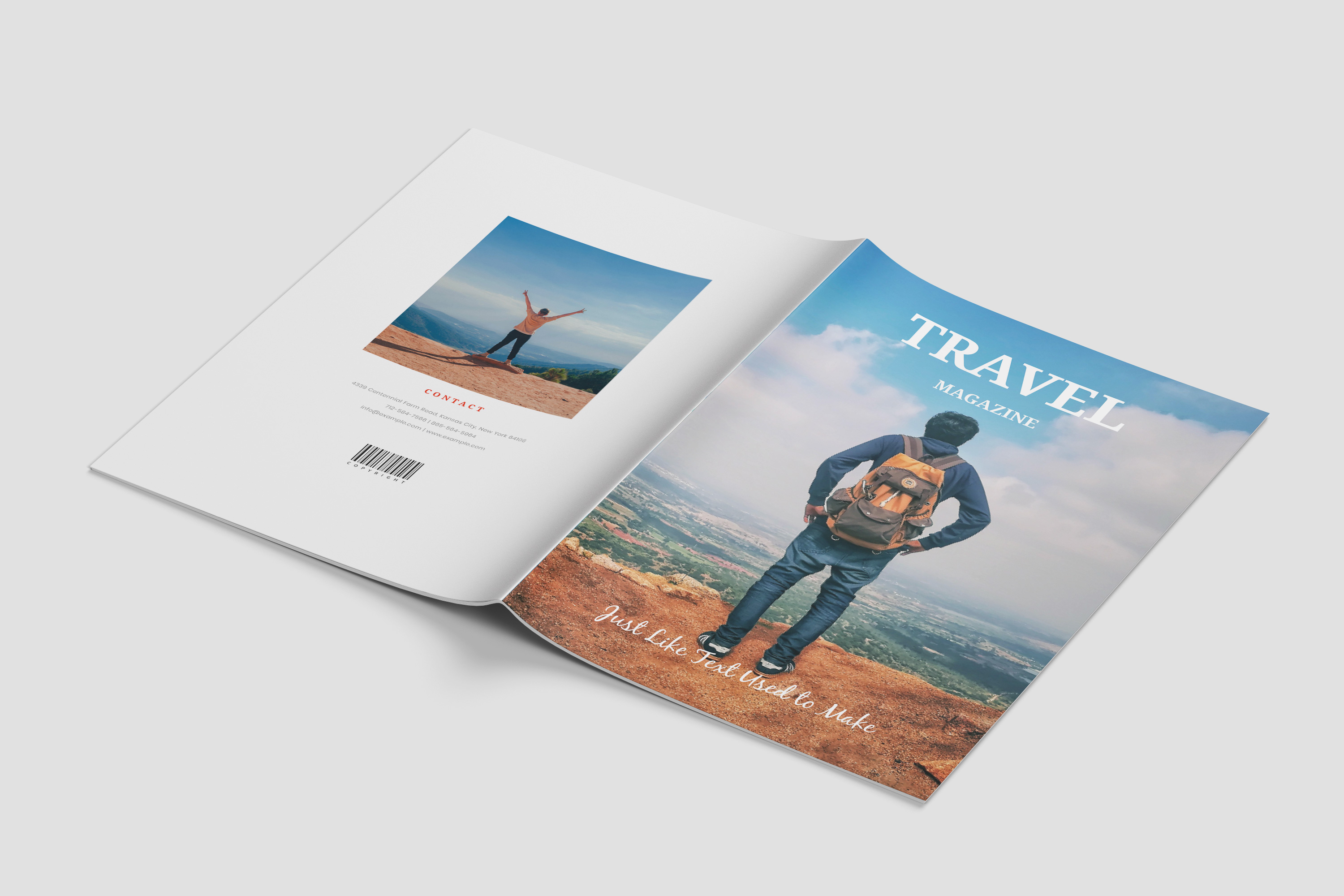 Travel Magazine Template example image 10