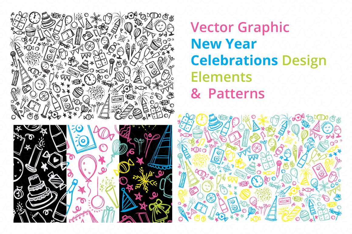 Christmas & New Year Bundle of Ornamental Mockups & Graphics example image 16