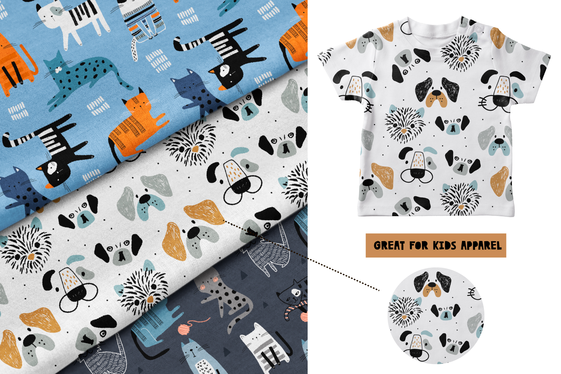 Cats&Dogs graphic collection example image 5