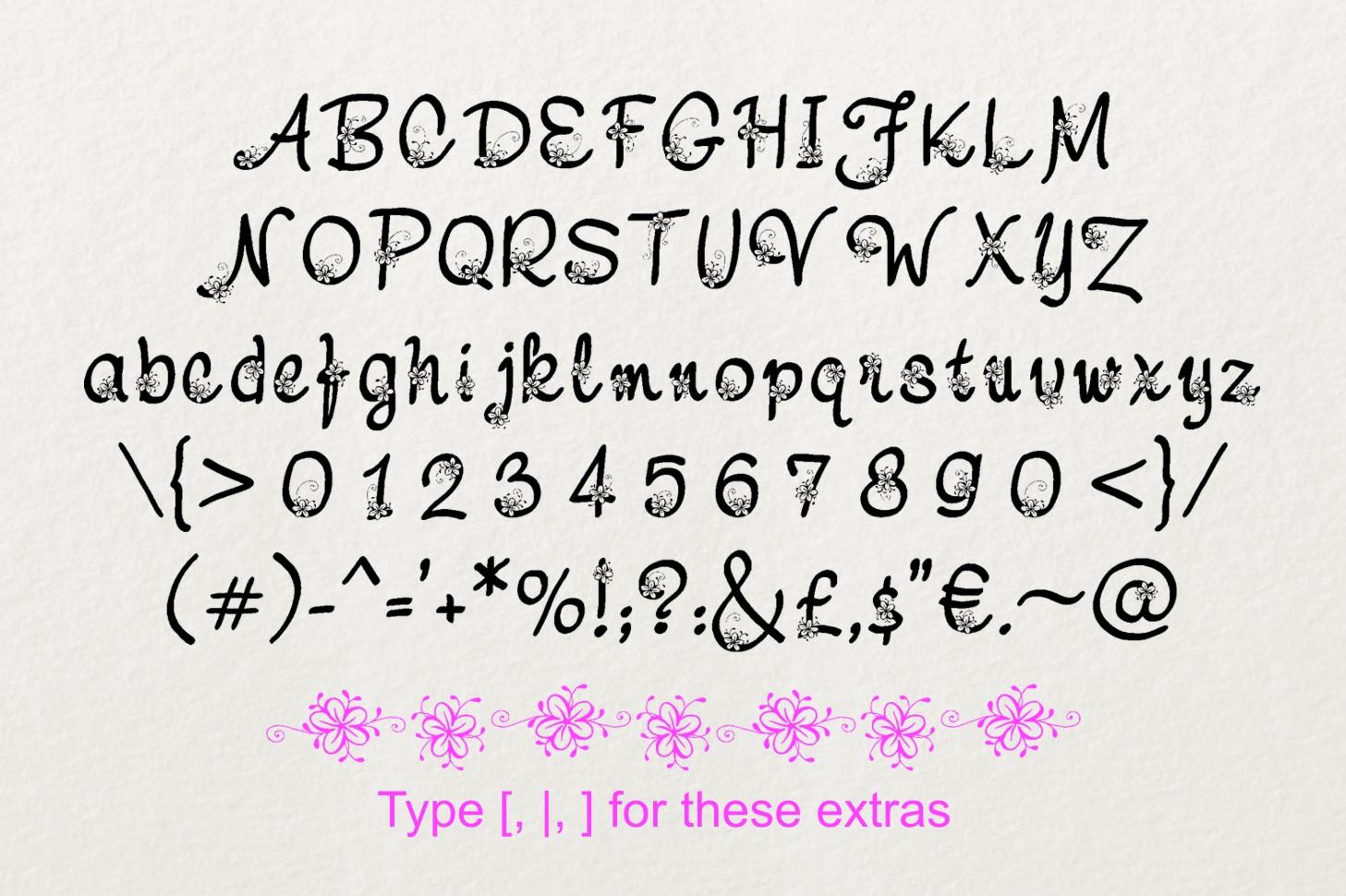 Nebulo font example image 4