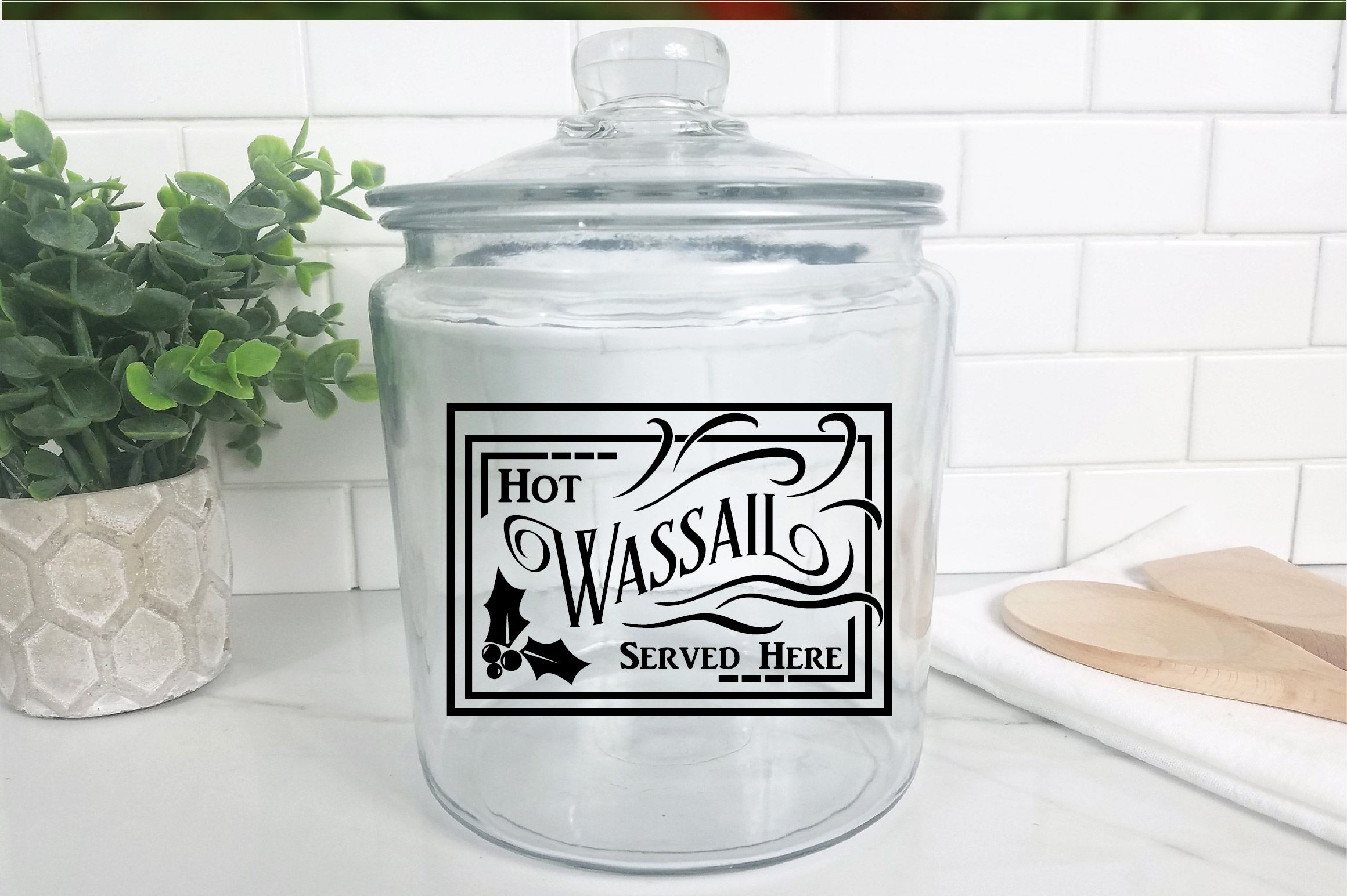Christmas SVG Cut File - Hot Wassail SVG DXF PNG EPS JPG example image 9