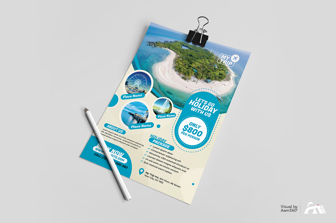 Travel Flyer Template example image 3