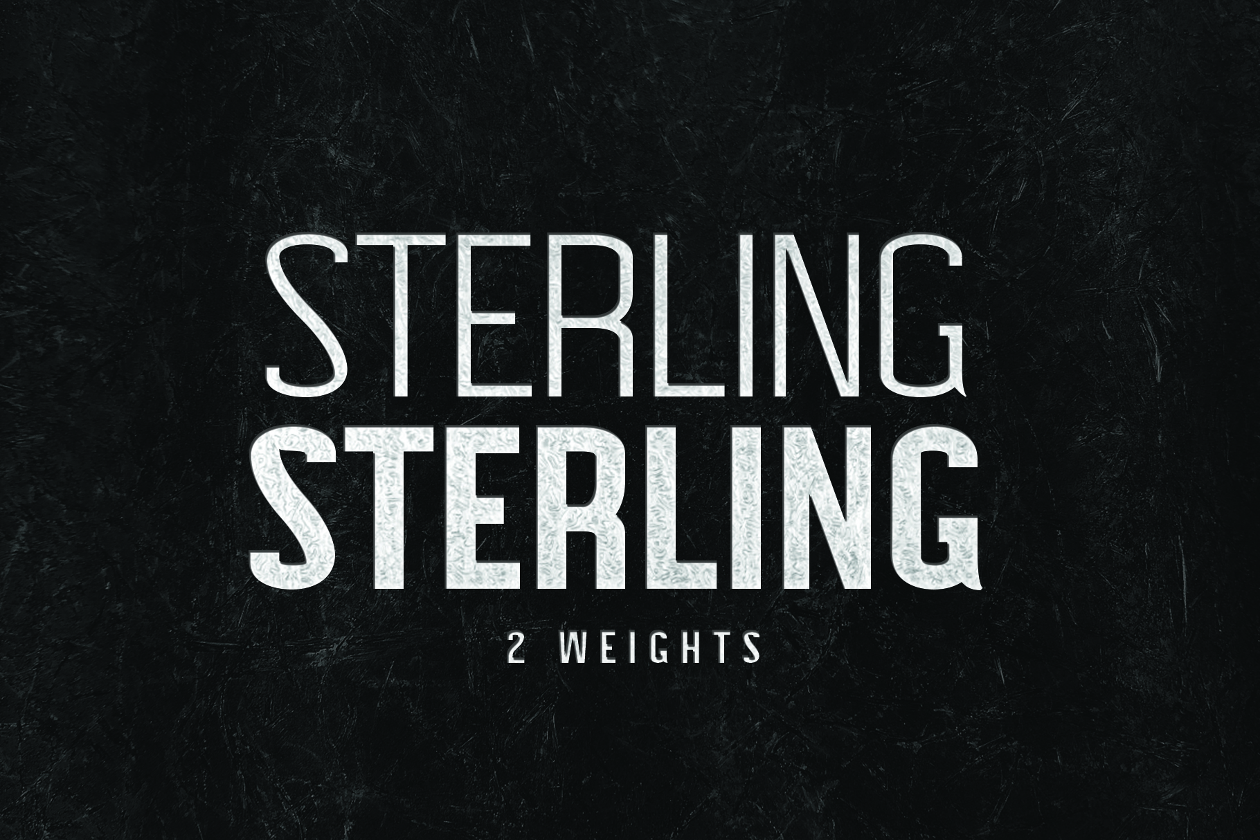 STERLING, A Powerful Sans Serif example image 3