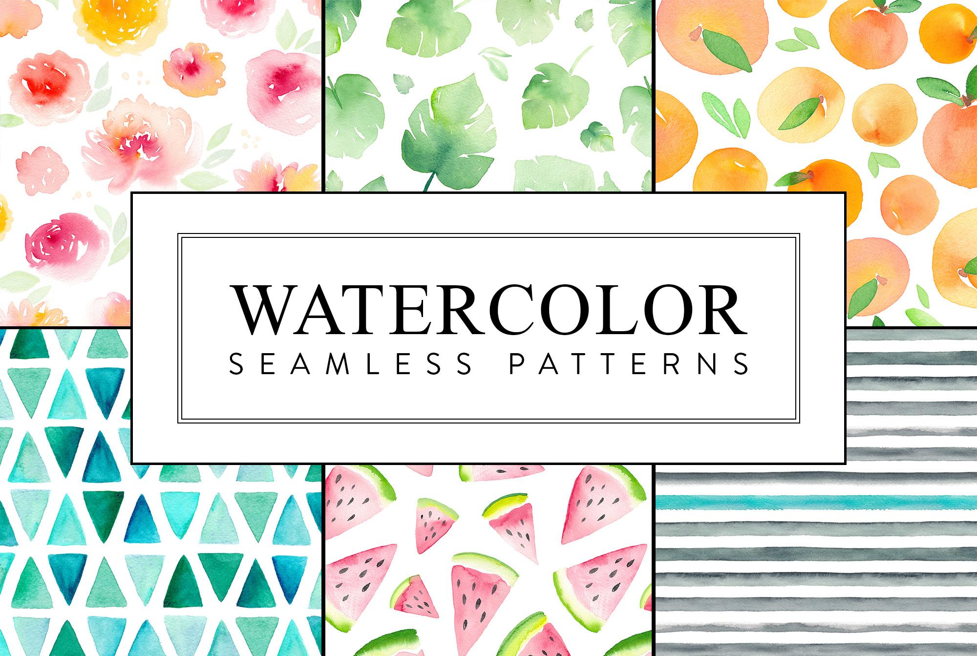 Seamless Patterns Bundle example image 5