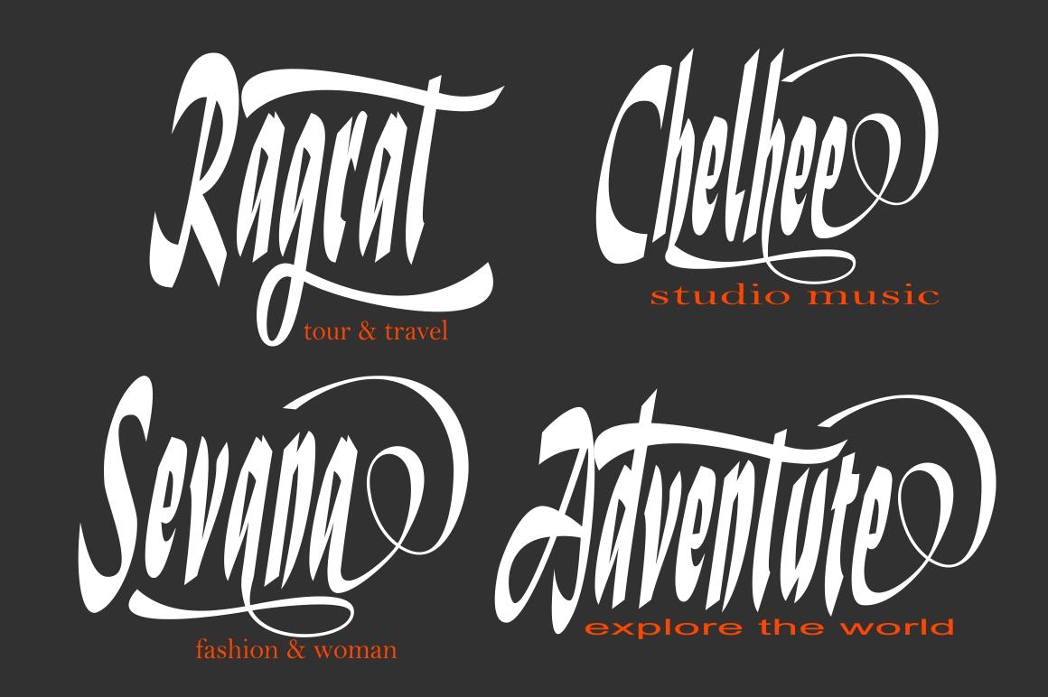 Verrell Script Font example image 4