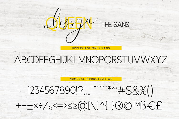 The Queen Alissya Font Duo example image 9