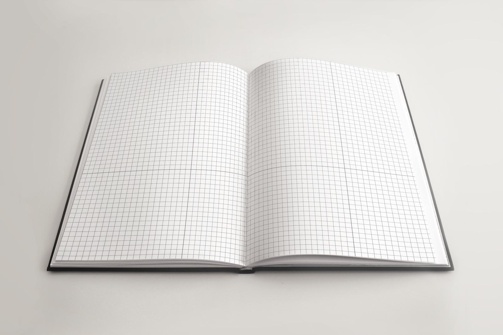 5 SketchBook Mockup NoteBook Mock-up example image 2