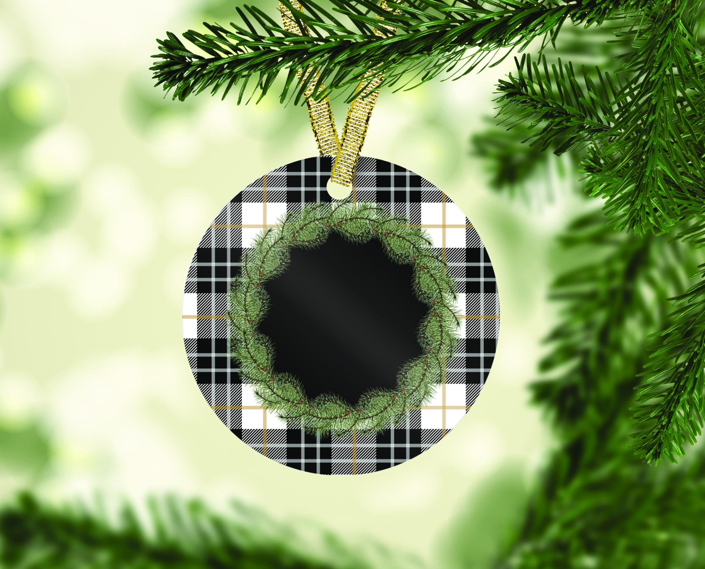 Farmhouse Christmas Ornament Bundle, Perfect for Sublimation example image 9