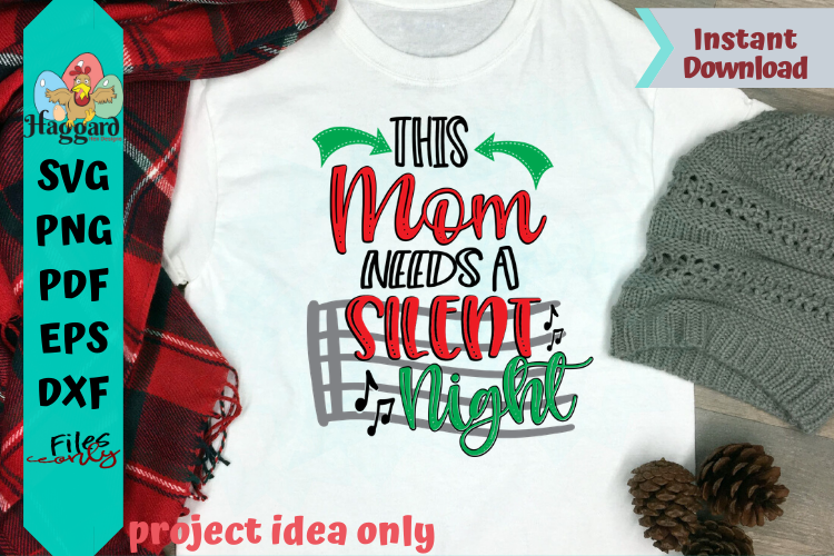 This Mom Needs a Silent Night example image 2