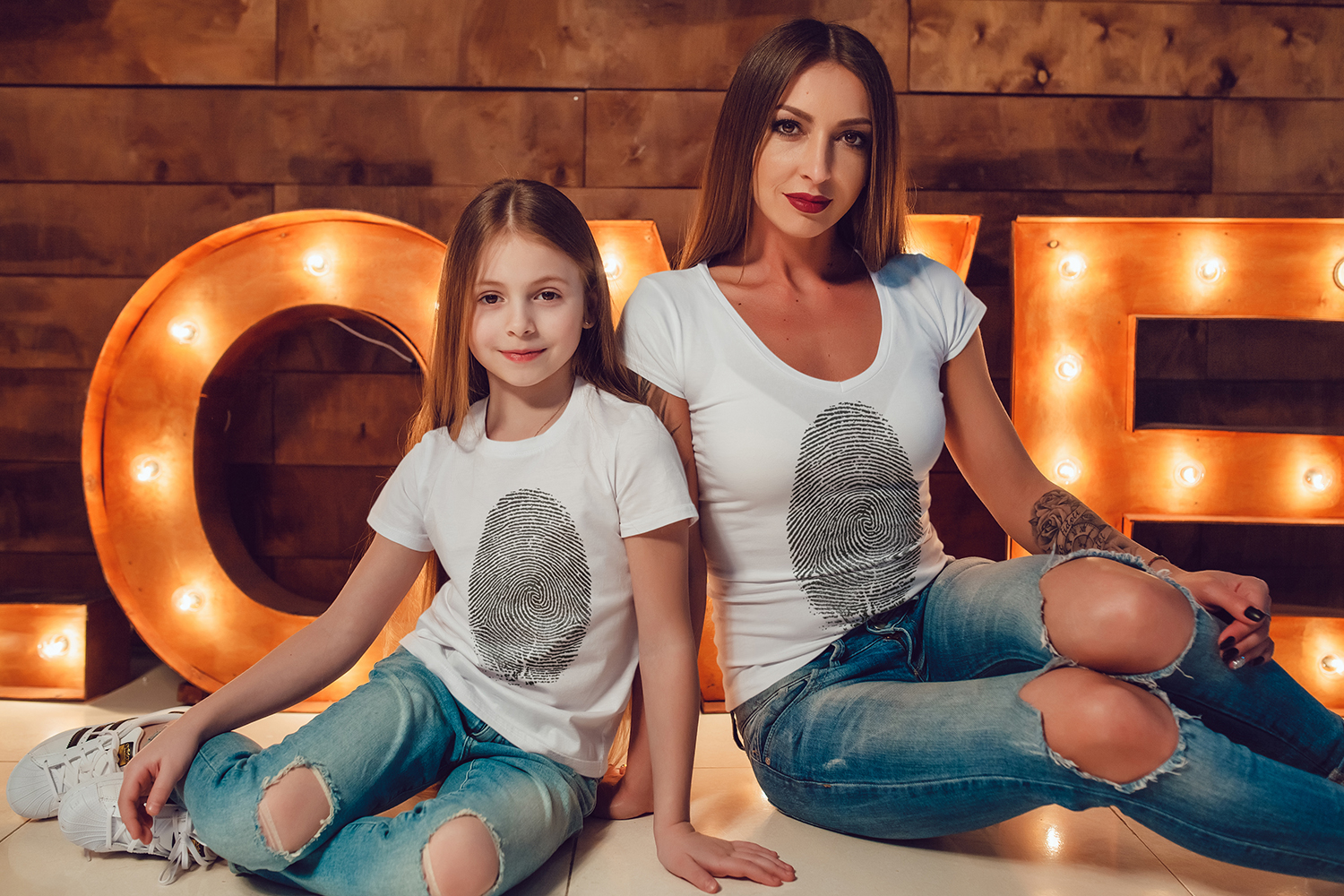 Family T-Shirt Mock-Up Vol.1 2017 example image 9